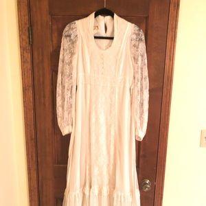 Gunne Sax dress lace vintage size 9 juniors